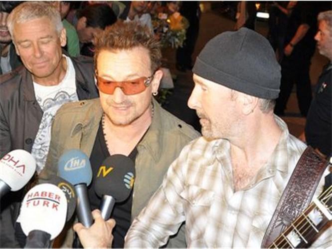 Ve U2 İstanbul'da...